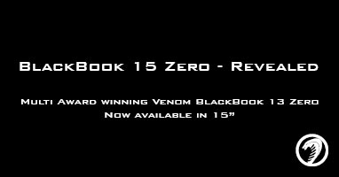 Venom BlackBook Zero 15 Video