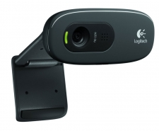 Logitech C270 HD Webcam with Build-In Mic