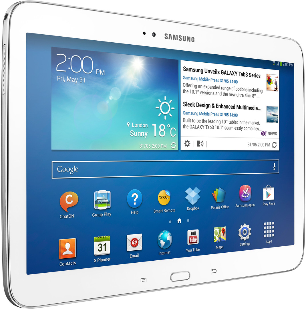 samsung galaxy tab 3 10 1 16gb 4g white android tablet gt p5220zwaxsa