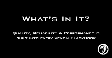 Venom BlackBook - What's In It Video
