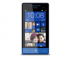HTC Windows Phone 8S (Blue) Telstra pre-paid phone