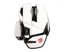 Saitek Mad Catz Cyborg M.O.U.S. 9 Wireless Gaming Mouse (White)