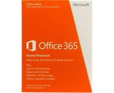 Microsoft Office 365 Home Premium - 5 PCs or Macs