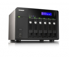QNAP TS-669 Pro High-performance 6-bay NAS server for SMBs