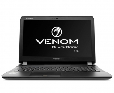 Venom BlackBook 15 (V22888) with 4K GTX 980M G-SYNC Midnight Edition
